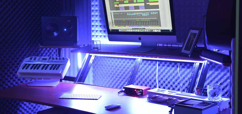 mixage et enregistrement