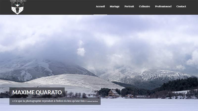 Site Maxime Quarato